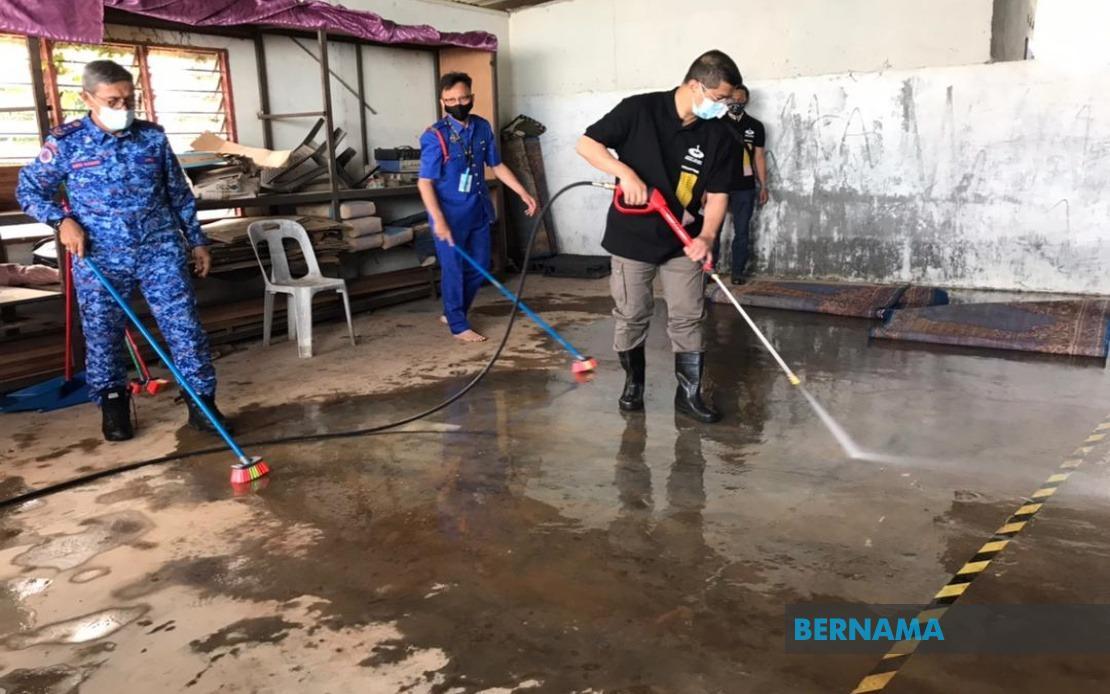BERNAMA - RM100,000 untuk selenggara sistem perparitan di Pengerang - Mohamed Azmin